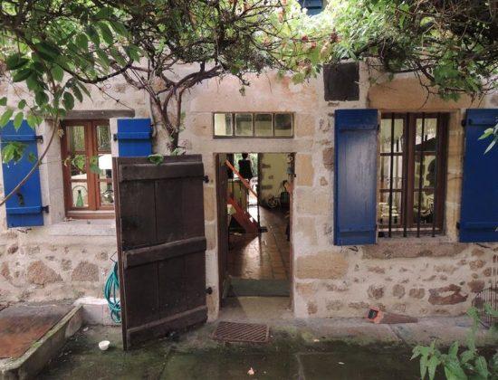 Maison bleue de Boussier