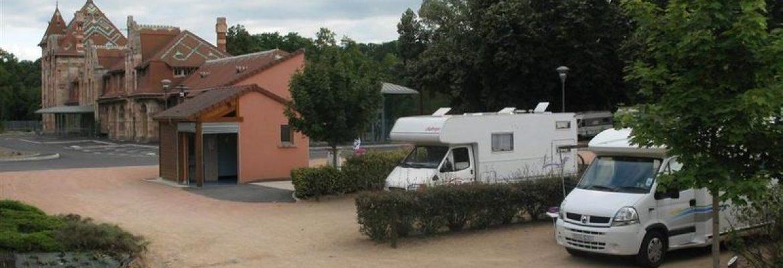 Aire d'accueil et de services – Camping du Lac