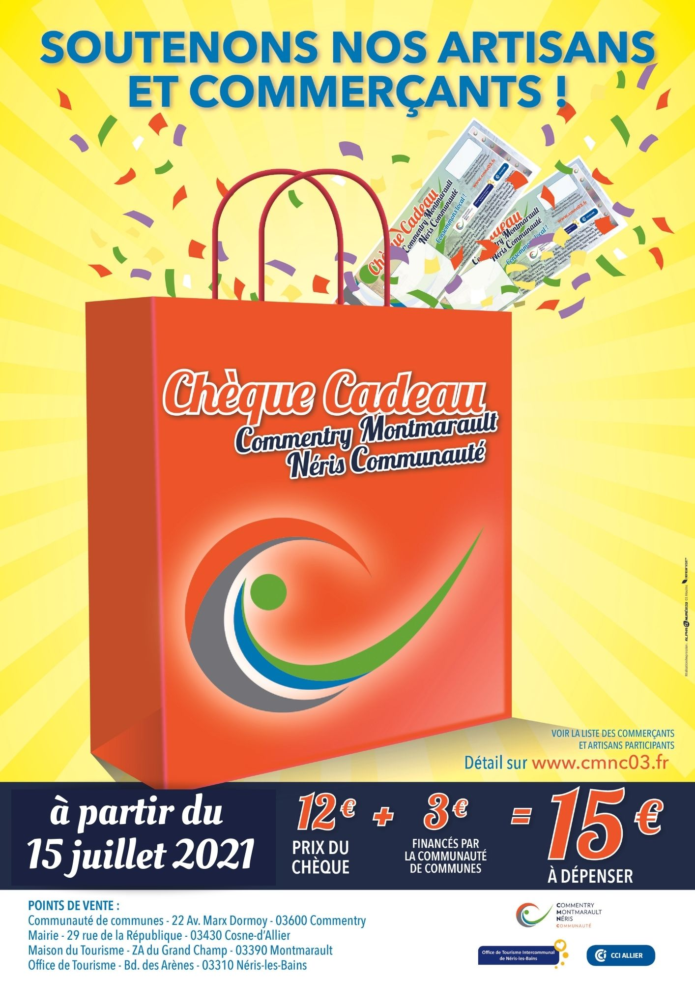 OPERATION CHEQUES-CADEAUX